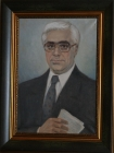 Tenyo Jelev - Portrait of Lukanov